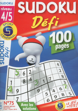 Subscription Sudoku defi niveau 4/5