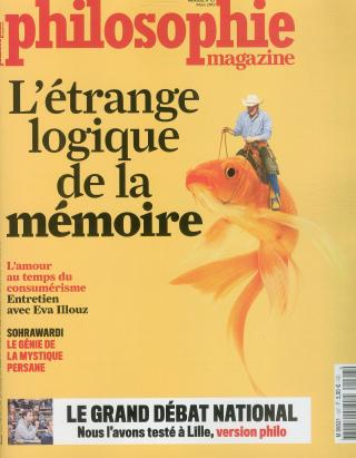 Abonnement Philosophie Magazine