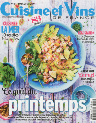 Subscription Cuisine et Vins de France