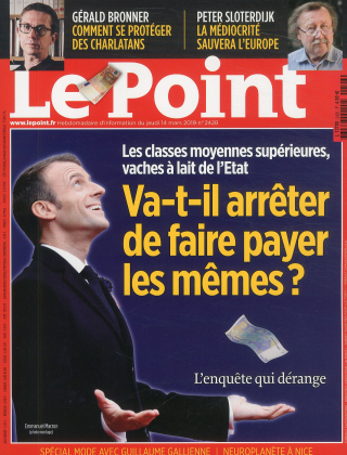 Abonnement Le Point