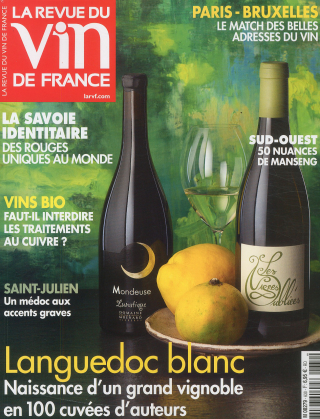 Subscription Revue du vin de France